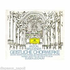 Bruckner:Sacred Choral Works for Chorus- Musica corale Jochum - 4 CD