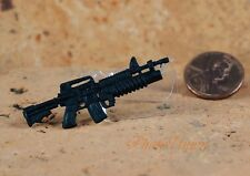 GI Joe 1:18 Action Figur 3.75 US Militär M4 Carbine M203 Grenade RIFLE G19_G