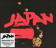 Adolescent Sex [Remaster] [ECD] by Japan (Rock) (CD, Sep-2006, Sony BMG)