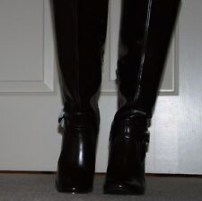 womens Apt.9 Chateaux brown boots size 8 Med