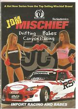 JAPANESE DOMESTIC MARKET (JDM) MISCHIEF DVD DRIFTING * BABES * CANYON RACING DVD