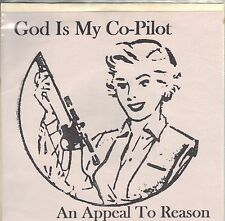 God Is My Co-Pilot - An Appeal To Reason - Godco Import 7 Inch Vinyl Record NEW