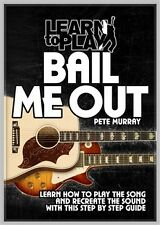 SALE* PETE MURRAY BAIL ME OUT LEARN TO PLAY GUITAR DVD BRAND NEW TUITIONAL DVD