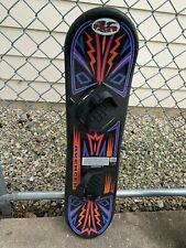 Flexible Flyer Avenger Kids Beginner 95 cm Snowboard Youth with Bindings VGC