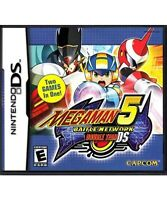 Mega Man Battle Network 5: Double Team (Nintendo DS, 2005) GAME ONLY, TESTED