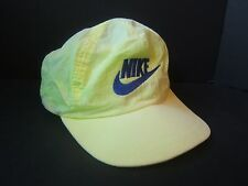Vintage Green Nike Hat Faded Loud Bright Retro Snapback Baseball Cap