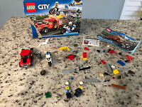 LEGO 60137 City ~ Tow Truck Trouble ~ Incomplete For Parts