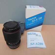 TOKINA SD SZ-X 70-210 mm 1:4-5.6 Lens-Coffret