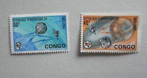 CONGO BRAZAVILLE ESPACE 1965 SATELITES NEUF MNH SPACE