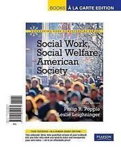 Social Work, Social Welfare and American Society, Books a la Carte Edition (8th