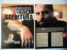 COUPURE DE PRESSE-CLIPPING :  SEPULTURA [4pages]03/2006 Andreas Kisser,Dante XXI