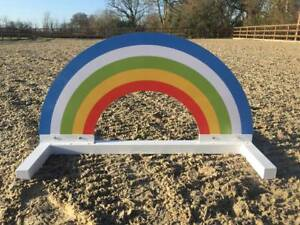 Rainbow Show jump Filler-For Showjumping