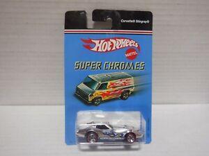 Hot Wheels Super Chromes Corvette Stingray (L5857) 020821MGL3