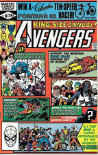 The Avengers King-Size Special Comic Book #10 Marvel Group 1981 NEAR MINT UNREAD
