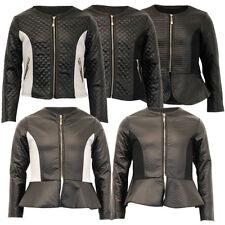 Manteaux, vestes et tenues de neige en cuir pour fille de 2 à 16 ans