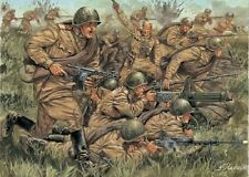 Italeri 1/72 WWII Plastic Russian Infantry Soldiers Set 6057  New In Box!
