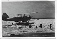 Heinkel He 59 Kampfflugzeug. Orig-Pressephoto, um 1940