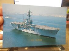 Other Old Postcard Boat Ship Military Battleship Uss Tripoli Marine Assault Lph