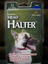 Sporn XL Blue Head Halter for Dogs