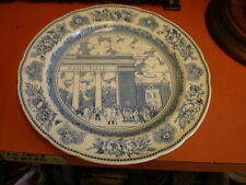 "1949 YALE - Wedgewood Collector Plate  ""Walter Camp Memorial Gateway 1928"""
