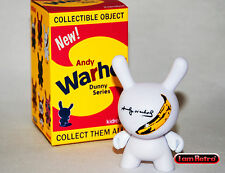 "Andy Warhol Little Banana 3"" Vinyl Dunny Series 2016 Kidrobot Brand New"