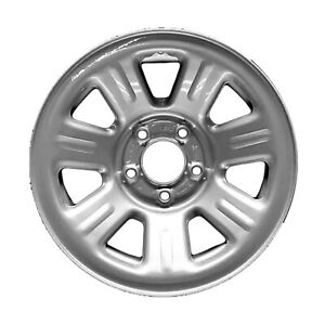 03404 New COMPATIBLE Steel Wheel, Rim Silver 15in Fits 2005 Ford Ranger