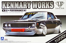 Aoshima 09826 Lb-Works Nissan Skyline Kenmary (Ken&Mary) Works 4Dr 1/24 scale