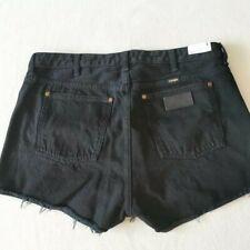 Wrangler Womens Black Shorts size L  - W 27  NEW