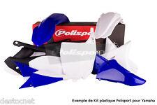 Kit plastiques Polisport  Couleur Origine YAMAHA  450 YZ 450 F Année 2010-2013