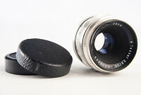 Carl Zeiss Jena Tessar 50mm f/2.8 Prime Lens with Both Caps for M42 Mount V19