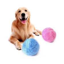 Pet Activation Ball Plush Toys Floor Clean Kitty Puppy Dog Chew Electric Gadget