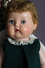 Vtg 50s 60s Tiny Tears Doll American Character 2675644 Blue Outfit Squeaks