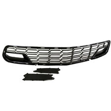 2014-2017 Corvette C7 Z06 Factory Style Grille w/o Camera - Real Gloss Black