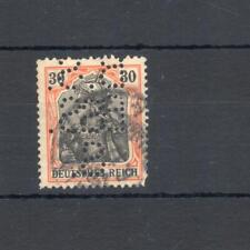 Germany perfin used VF