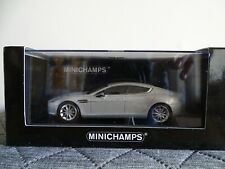 1:43 Minichamps #400137901 2010 Aston Martin Rapide Silver Limited Edt. Neu/OVP