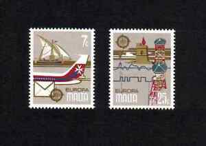Malta 1979 Europa/ Communications complete set of 2 values (SG 625-626) MNH