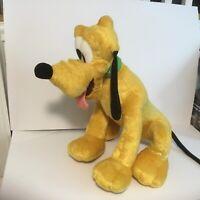 "Walt Disney World Pluto Large Plush Stuffed Animal Toy 21"" tall Jumbo Huge"