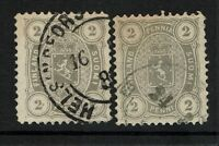 Finland SC# 25, Used, Two cancel varieties - Lot 082017