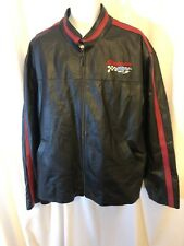 Snap-on Tools Racing Leather Bomber Jacket 2XL