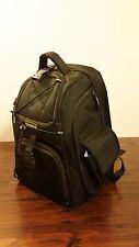 Black Ballistic Nylon PORTARE Multi-Use Camera Laptop Tablet Padded Backpack Bag
