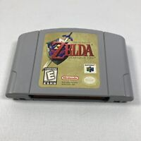 Authentic Nintendo Legend of Zelda: Ocarina of Time N64 (Cartridge Only) Tested!