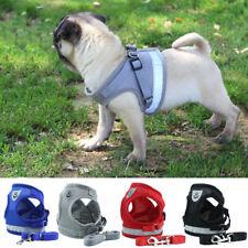 Reflective Dog Harness Leash Set Adjustable Samll Medium Dogs Vest Easy Control