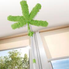 CLEANmaxx Flexibler Staubwedel Staubwischer mit 5 biegbaren Armen limegreen/weiß