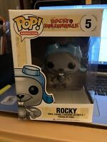 Funko POP! Rocky & Bullwinkle Rocky 5 Very Rare & Vaulted w/Pop Protector (FPB9}