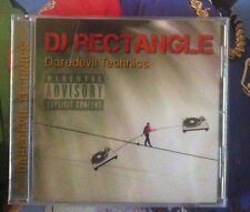 DJ RECTANGLE Daredevil technics  NEW SEALED cd
