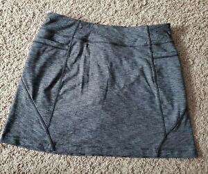athleta excursion skort Grey Pockets Large
