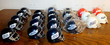23 Vtg Mini Football Helmet Bud Bowl Budweiser Bud Ice Dry Beer Bottle Topper