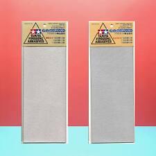 Tamiya Finishing Abrasives Sandpaper [#87010 Fine + #87024 Ultra Fine] 2pcs Set