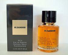 Jil Sander No 4 100ml Eau de Parfum Spray Woman Nr. 4 NEU in OVP + FOLIE