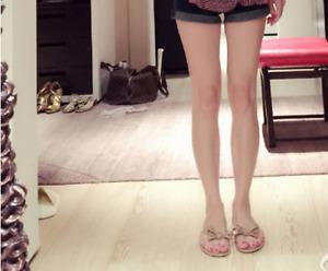 Women's Outdoor Casual SlippersFlats Rivet Sandals Beach Slippers Shoes Pink